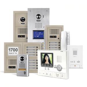 כולם חדשים מערכות אינטרקום לבניין משותף - בחירת מערכת אינטרקום לבית או לבניין NX-04